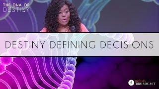 Destiny Defining Decisions | Dr. Cindy Trimm | The DNA of Destiny