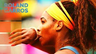 Serena Williams vs Caroline Garcia - 2013 French Open R2 Highlights