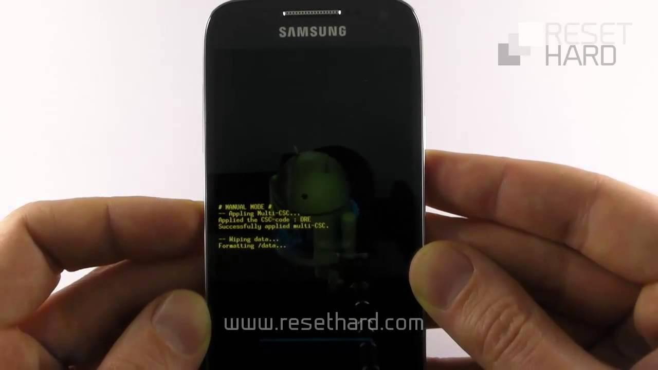 S4 Mini Reset