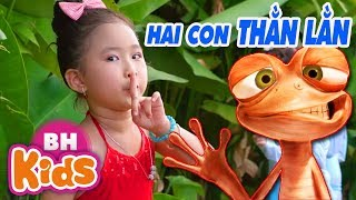 Hai Con Thằn Lằn Con - Candy Ngọc Hà | Nhạc Thiếu Nhi