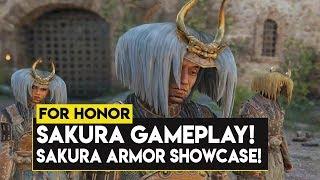 For Honor: SAKURA GAMEPLAY! NEW SAKURA ARMOR SHOWCASE! NEW SEASON 10 HERO SAKURA!