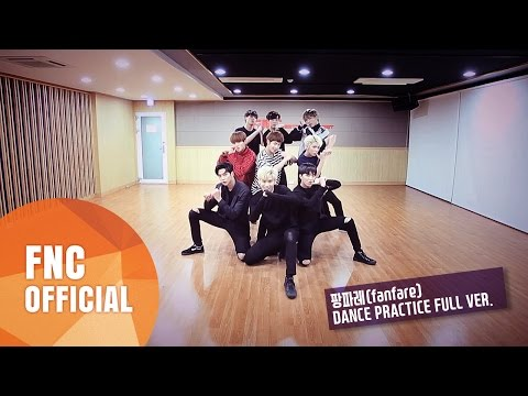 SF9 – 팡파레(Fanfare) 안무 연습영상(Dance Practice Video) Full Ver.
