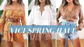 Vici Haul   Spring Vacation 2019