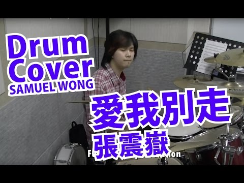【SAMUEL WONG】愛我別走- 張震嶽 (drum cover)