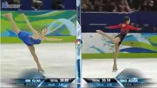 Yuna KIM & Mao ASADA - 2010 Olympics FS
