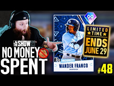 NO MONEY SPENT! UNLOCKING FREE 99 WANDER FRANCO AND MORE PACKS! | MLB The Show 21 #48