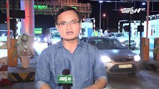 VTC14 | Tài xế dùng tiền lẻ phản đối trạm thu phí BOT Cai Lậy - Tiền Giang