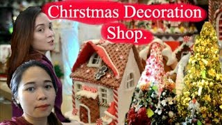 Vlogmas: The most Beautiful Christmas Decorations Shop