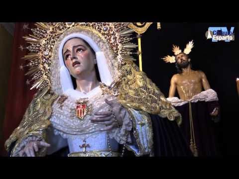 Besamanos de la Virgen de Dolores y Misericordia de Jesús Despojado