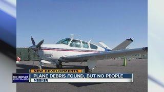 Plane debris found near Meeker