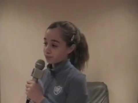 Christina Aguilera Hurt sung by 12 year old Amanda D. CriisDeena