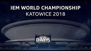 LIVE: Fnatic vs. Team Liquid - Semifinal - IEM World Championship Katowice 2018