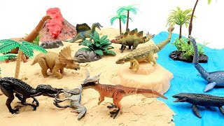 Dinosaur Island With Jurassic World 2 Learn Dinosaur Names T Rex! Scary Indoraptor VS Blue Toys