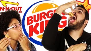 Fast Food Burger Taste Test