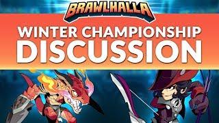 Winter Championship Discussion - Brawlhalla Dev Stream Montage