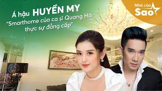 Á Hậu Huyền My Trải Nghiệm Căn Nhà Thông Minh Của Ca Sĩ Quang Hà - VTV3