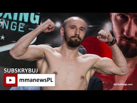 Mateusz Rajewski zapewnił Wojciechowi Kazieczko pierwszą zawodową porażkę na DSF Challenge 16