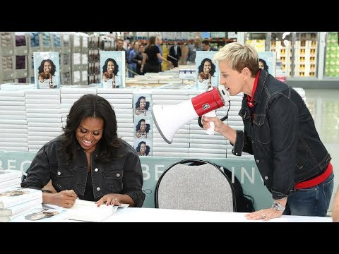 Ellen & Michelle Obama Go to Costco