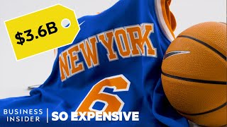 Why The New York Knicks Are So Expensive   So Expensive