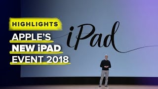 Apple's new iPad 2018: Event highlights