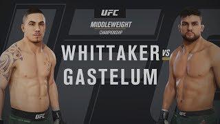 UFC 234 - Robert Whittaker vs Kelvin Gastelum [1080p HD]