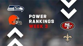 Week 3 NFL Power Rankings Show