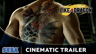 Yakuza: Like a Dragon Cinematic Trailer (IT)