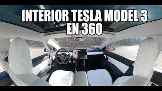 TESLA MODEL 3 - interior en 360º - review y calidades