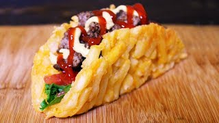 Taco-Hamburguesa