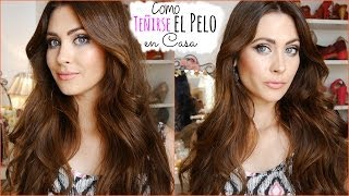 Como Teñirse/Pintarse el Pelo en casa (Color, tips) How I dye my hair at home