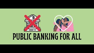 Philadelphia Town Hall on Public Banking 9/1/2020