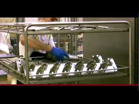 JEROS Case Arla Foods Kruså Dairy - Industrial Utensil Washer Solution
