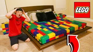 REPLACING EVERYTHING WITH LEGOS PRANK!