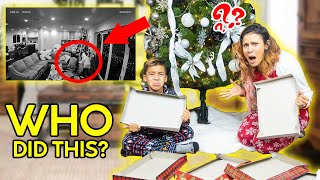 Somebody STOLE Our CHRISTMAS PRESENTS!! WHO DID THIS?? | The Royalty Family