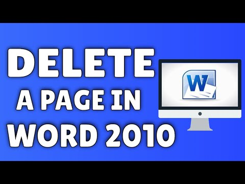 A A FROM PAGE DELETE