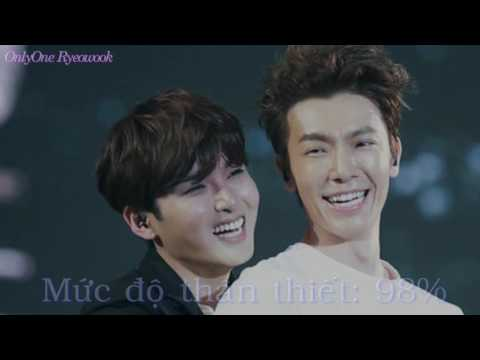 Happy Birthday Kim Ryeowook -31st - The intimacy between Ryeowook and other members