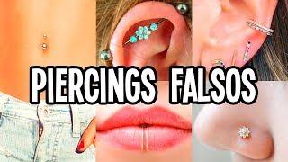 Como Hacer Piercings Falsos