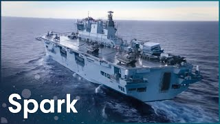 What Is It Like Maintaining Britain's Biggest Warship? | Warship | Spark