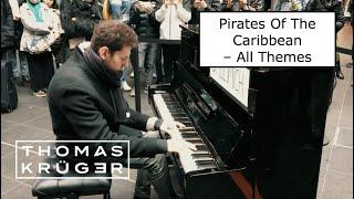 PIANO MEDLEY [Pirates Of The Caribbean – All Themes!] at Berlin Main Station – THOMAS KRÜGER