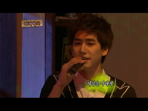 【TVPP】 KyuHyun(Super Junior) - Singing ballads for Wonder Girls, 규현(슈퍼주니어) -  발라드 열창 @Come and Play