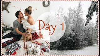 VLOGMAS DAY 1 // We Can't Wait For Christmas!