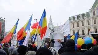 Scandări la Iași: refuz, rezist, gazelor de șist!