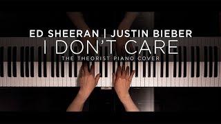 Ed Sheeran & Justin Bieber - I Don't Care   The Theorist Piano Cover