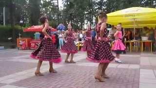 Выступление в Детском городке. День семьи 2014