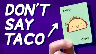 This Game is a Tongue Twister For Your Brain • Let's Play: Taco Cat Goat Cheese Pizza