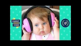 TRY NOT TO LAUGH - KIDS FAILS & CUTE BABIES | Funny Videos October 2018