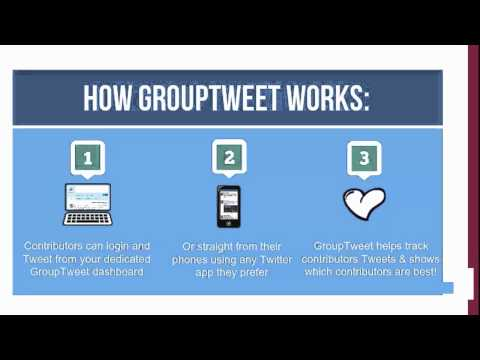 GroupTweet - Group Twitter Accounts Made Easy