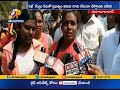 Why Govt Taking Poor People Land For Sakhi Center   Locals Protest at Mahabubabad