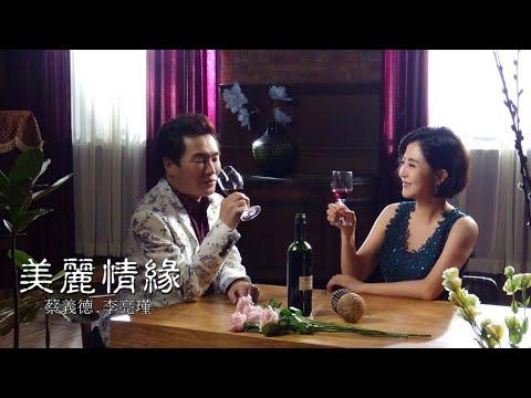 蔡義德&李亮瑾《美麗情緣》官方MV(假日八點檔天之驕女片尾曲)