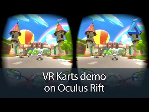 VR Karts demo on Oculus Rift